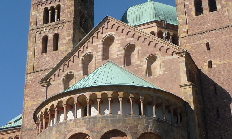 Der Dom in Speyer, dem Veranstaltungsort des Workshops 2016